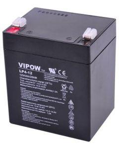 Akumulator żelowy 12V 4Ah do systemów alarmowych