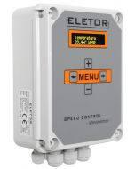 Eletor SC-S - 5A ventilation controller for livestock rooms, used in buildings divided into chambers