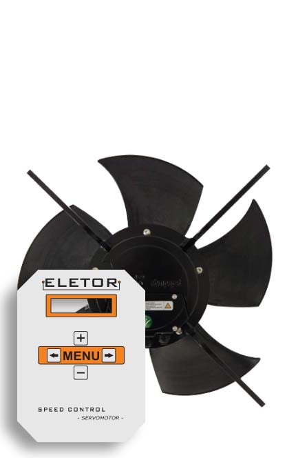 Ventilation controller cheaper with a fan